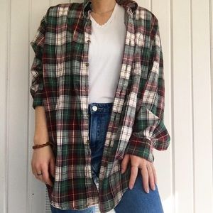 Comty oversized flannel
